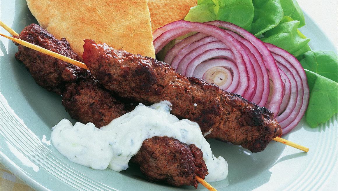 Kebab i pitabrød