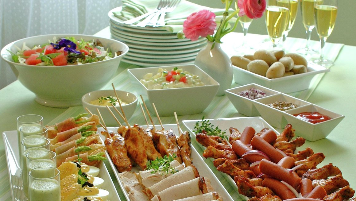 Buffet for glade maidager