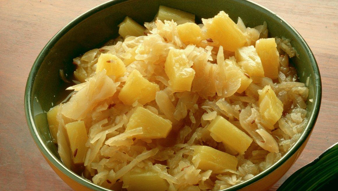 Surkål med ananas
