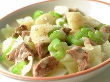 Lammekjøtt med grønnsaker - Lambakjøt meth Grænmeti