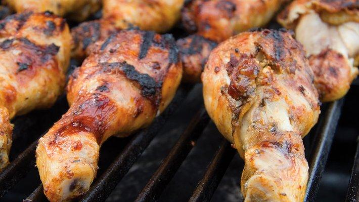 Kyllinglår på grillen