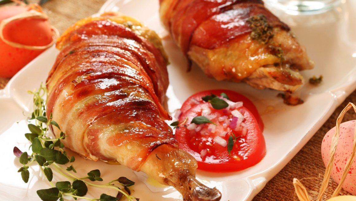 Kyllinglår med pepperrot og gressløksmør