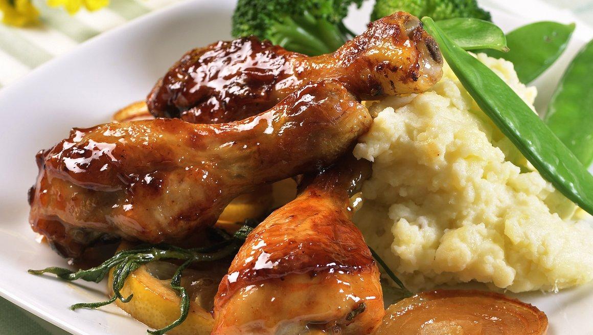 Kyllinglår med smak av honning