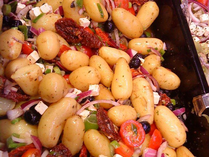 Gresk potetsalat / gresk salat