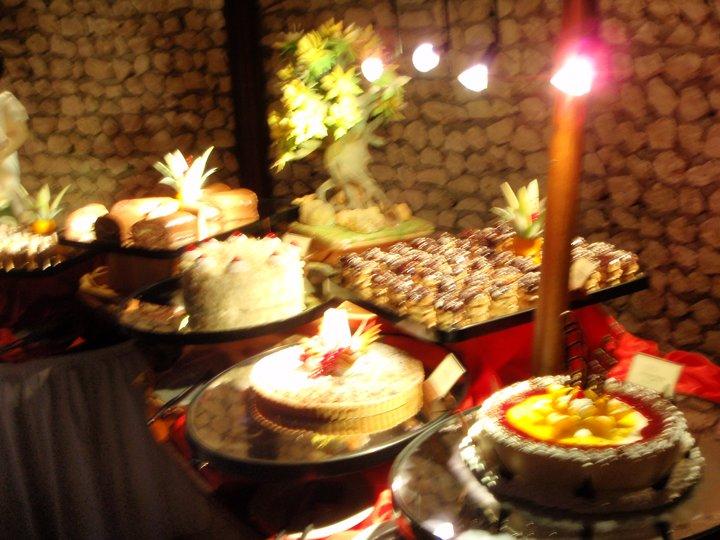 Nøttekake med gul krem (Verdens beste)