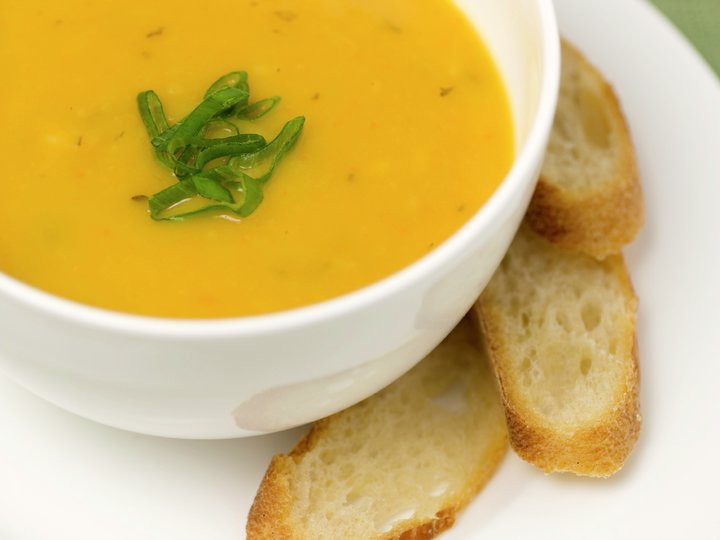 Hannes gule suppe