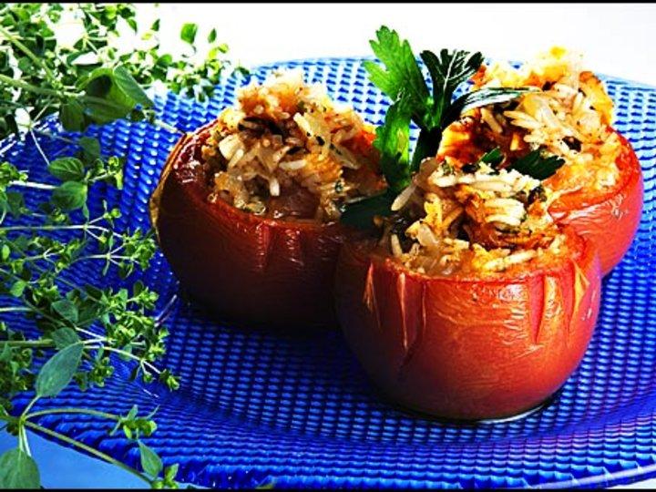 Fylte tomater - yemistes
