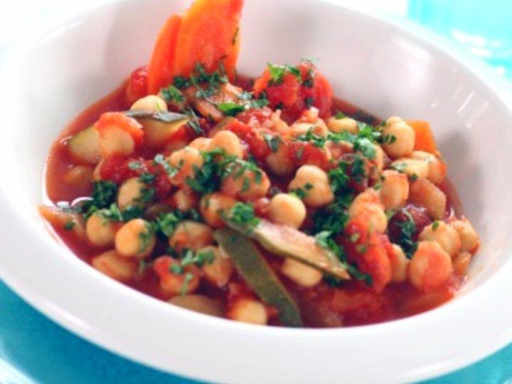 Kikertgryte med tomat
