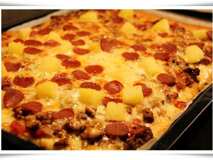 Solveigs hjemmelagde pizza