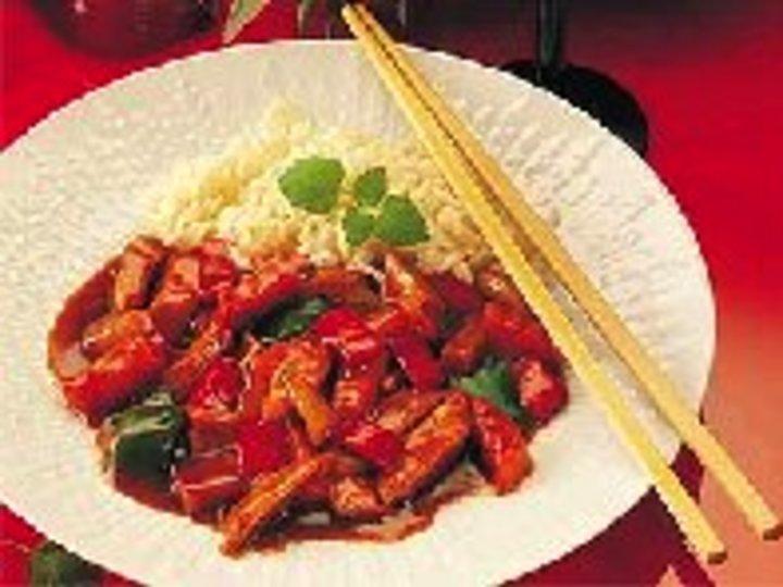Sur-søt wok fra Kina