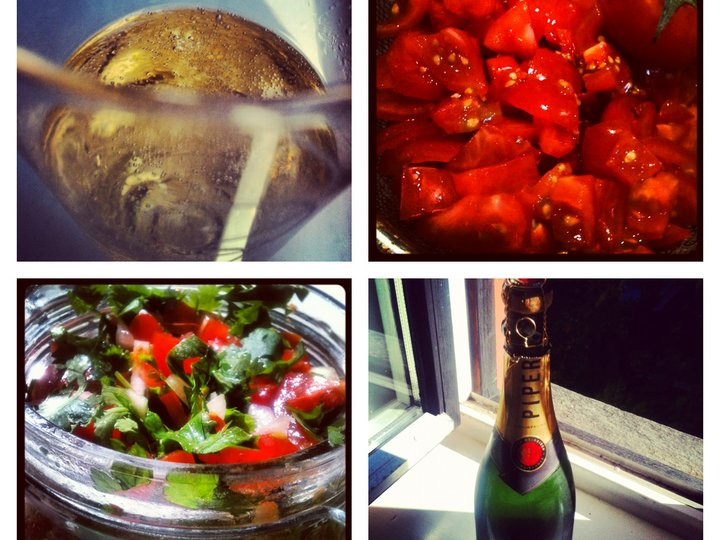 Fredag er bobler og salsa