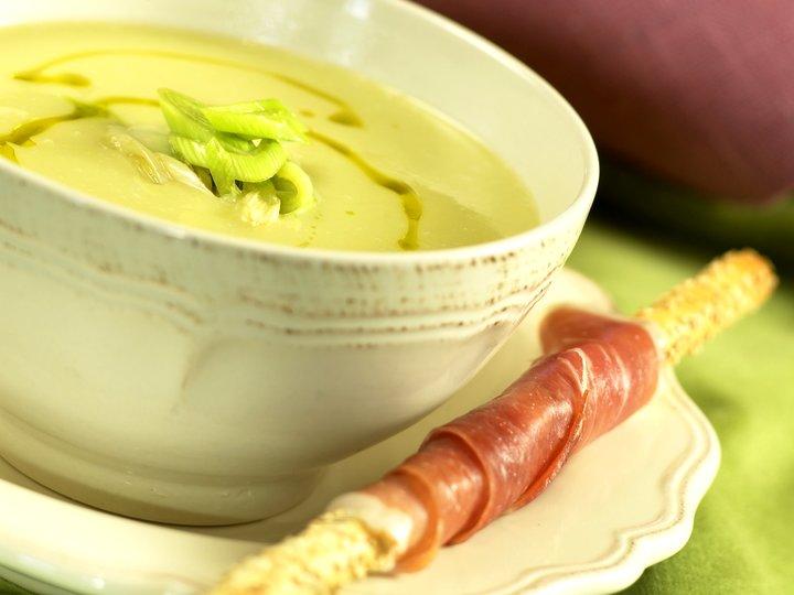 Purre- og potetsuppe