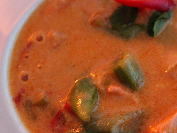 Rask suppe med laks