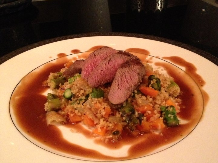 Lammefilet med couscous
