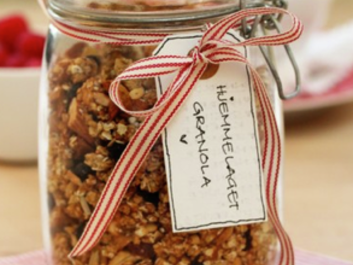 Hjemmelaget granola – frokostfavoritten