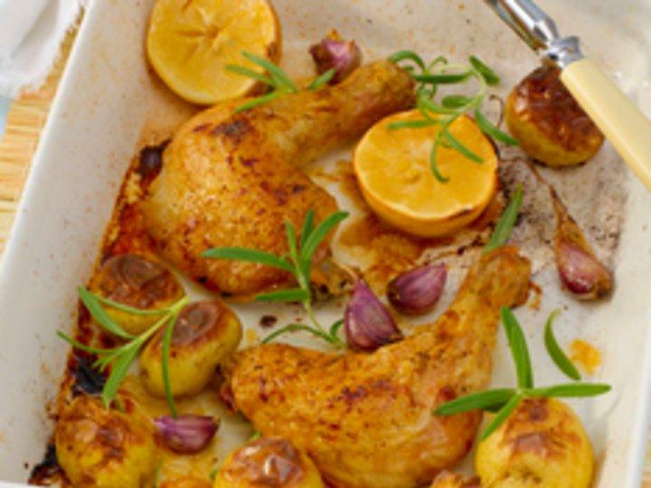 Kyllinglår med sitron og honning