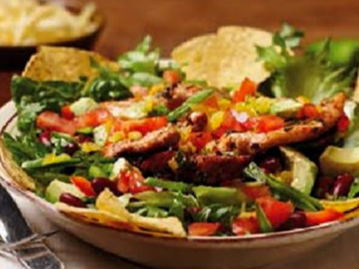 Mexikansk kyllingsalat