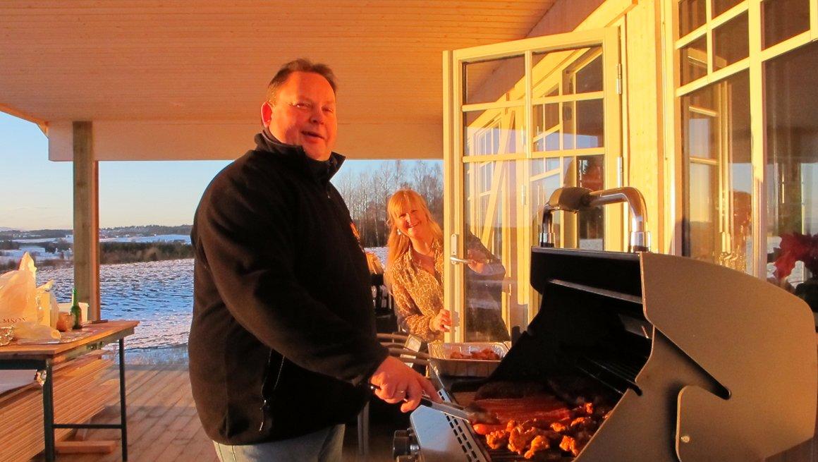 Bjørn Tore Teigen, grilling