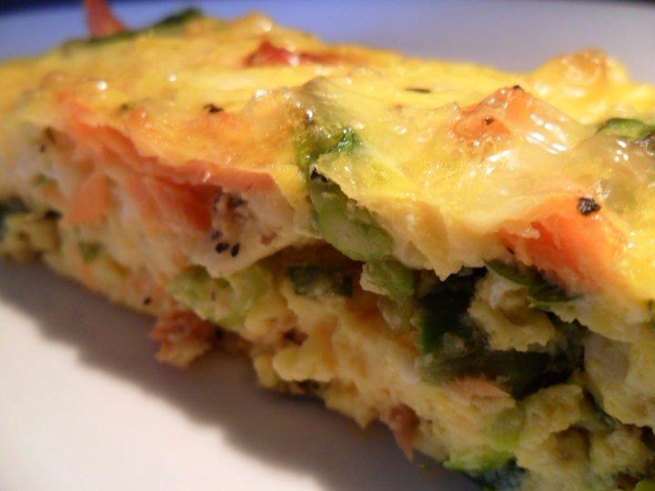 Ovnstekt omelett