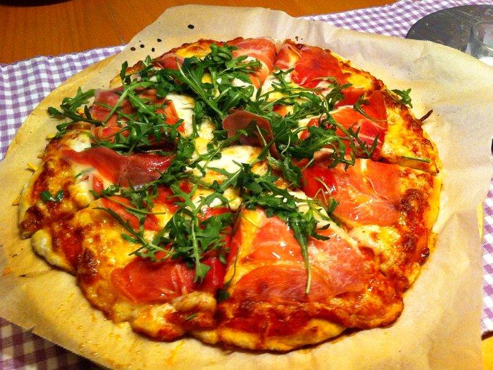 Italiensk pizzabunn