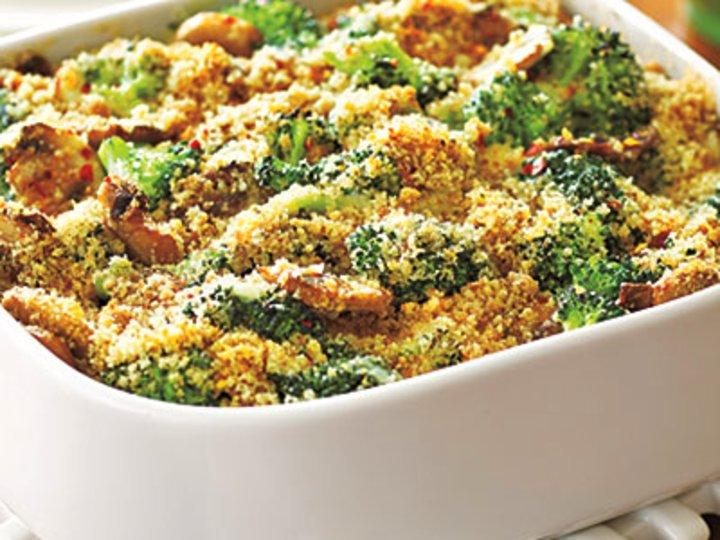 Broccoli-Mushroom Casserole
