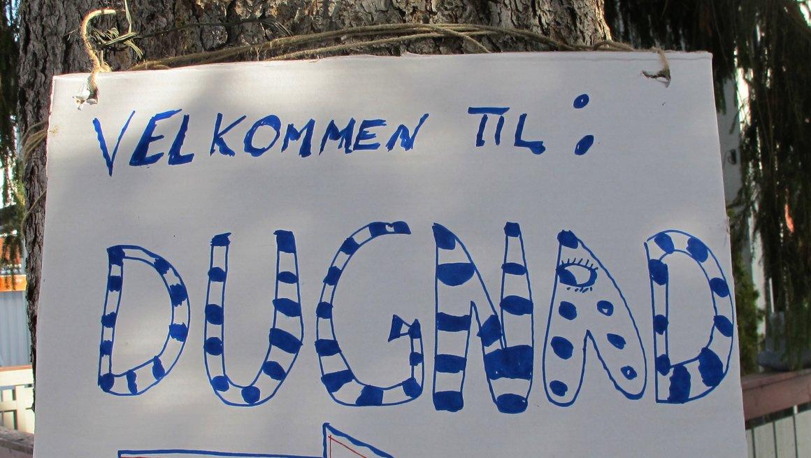 dugnad plakat