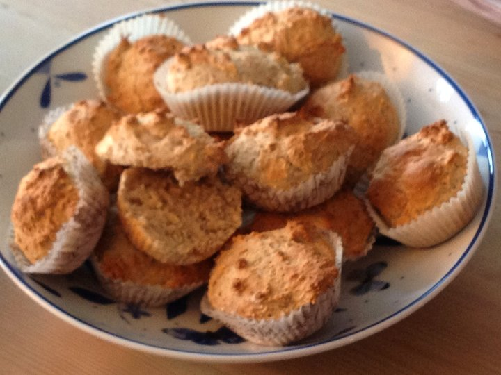 Lettvinte muffins-scones til frokost
