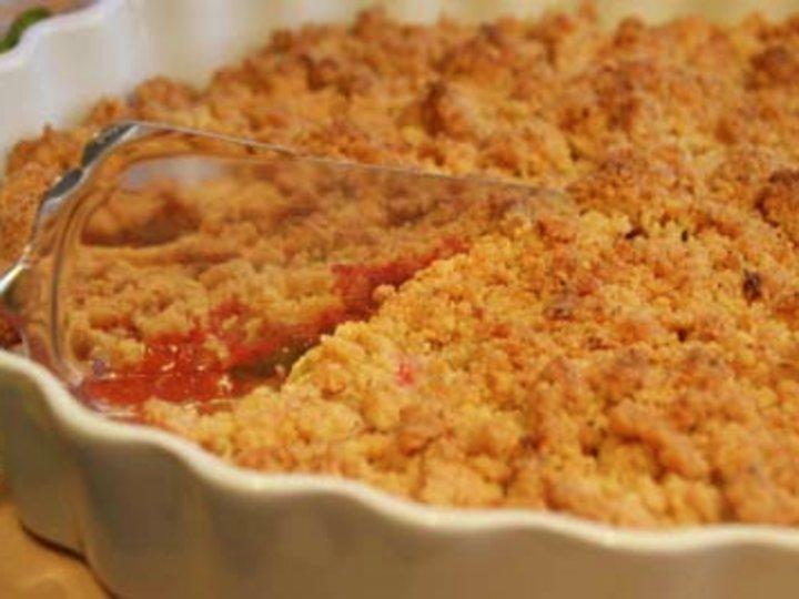 Mormors äppeltårta (smuldrepai)