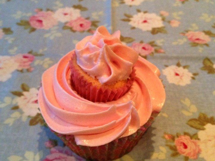 Cupcakes med iskrem