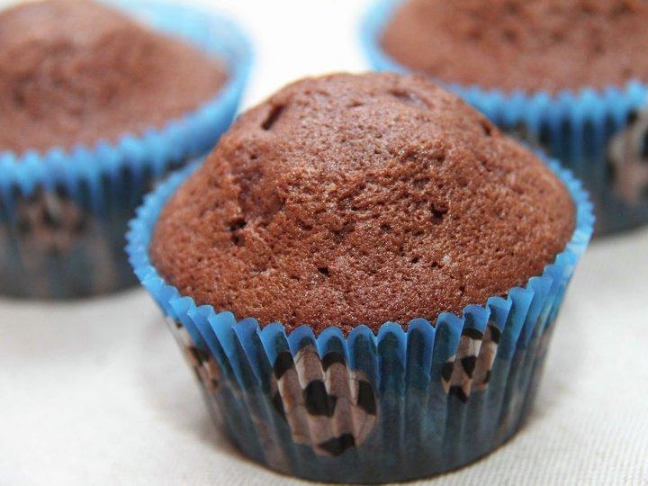 Sjokolade cupcakes