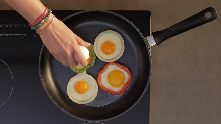 Sommertriks # 9 Fiffige, stekte egg