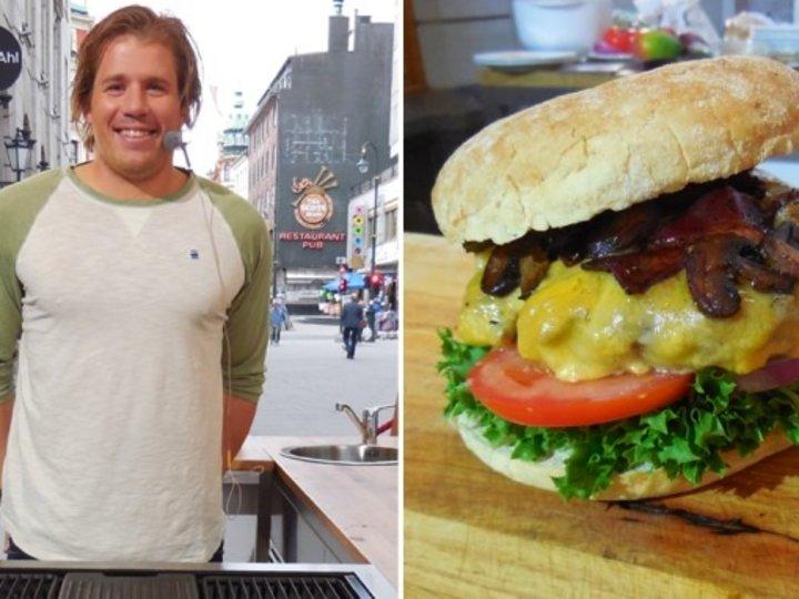 Jansrud's burger