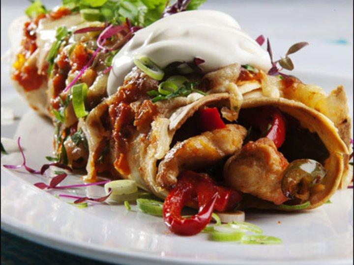 Kylling Enchiladas