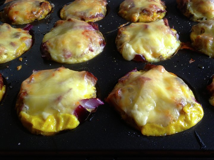Muffins Omelett