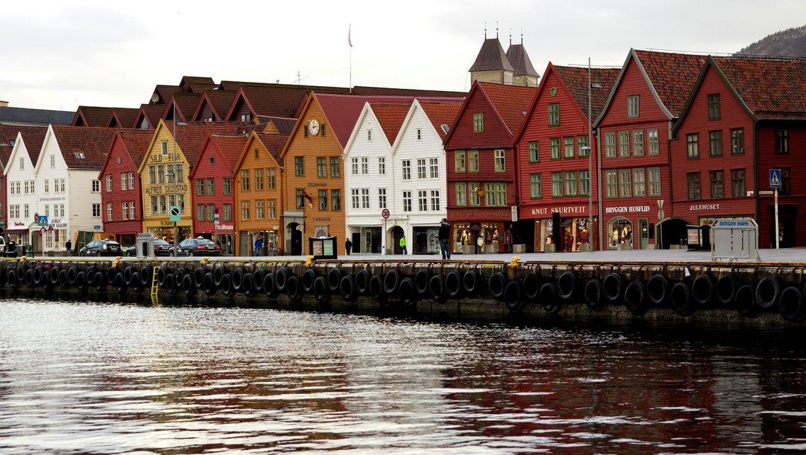Bergen Jul Bryggen