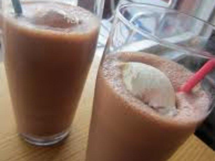 Sjokolade milkshake