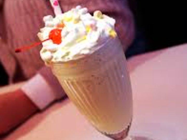 Vanilje milkshake