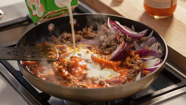 Rask thaicurry med kjøttdeig av svin 3c.jpg