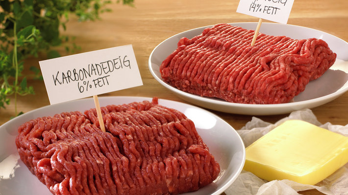 Karbonadedeig og kjøttdeig