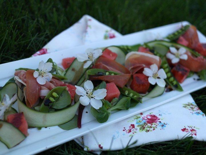 Sommerlig salat