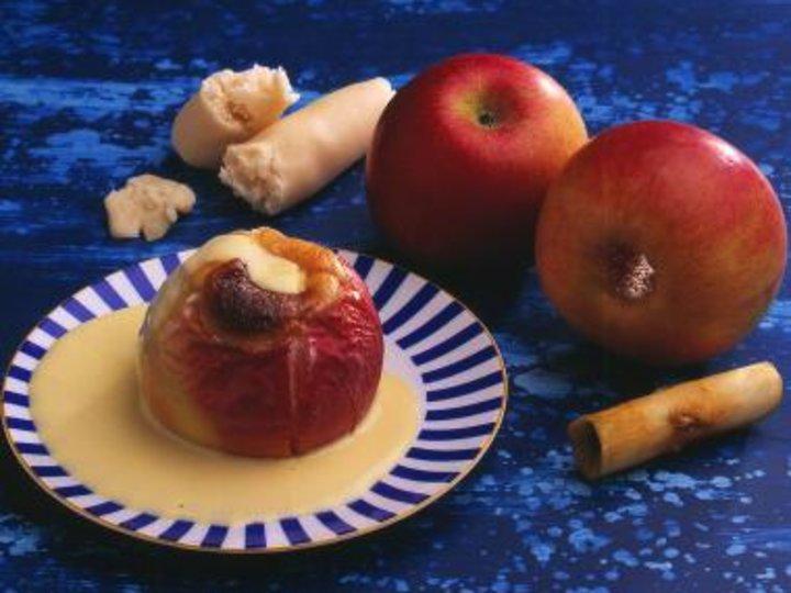 Stekte epler