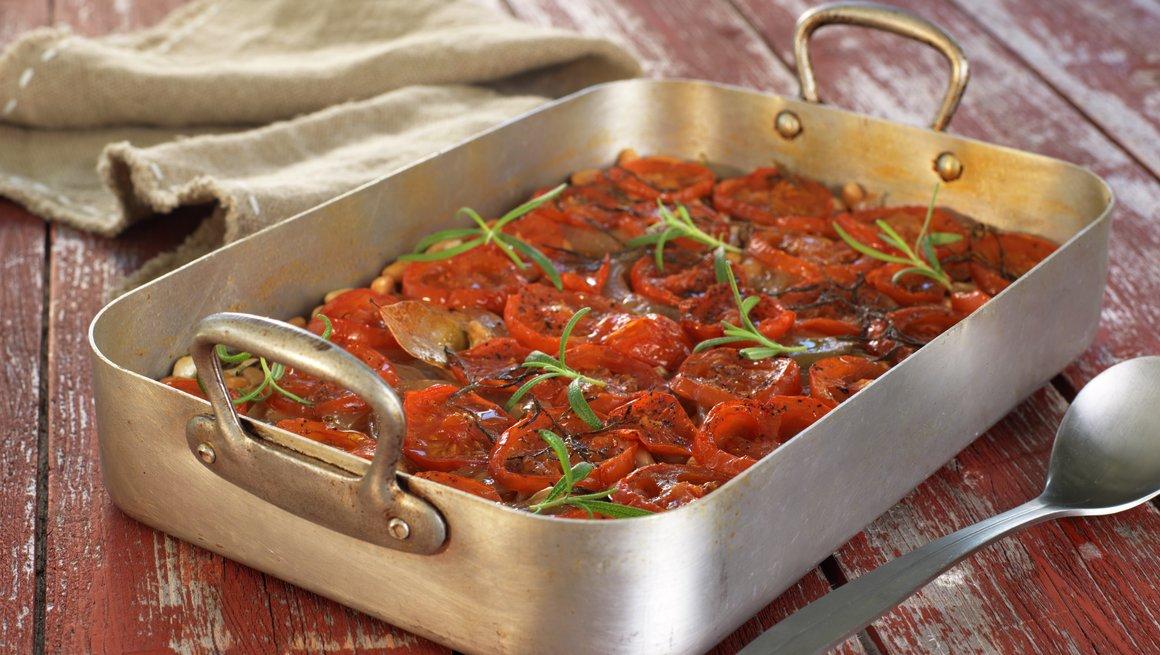 Bønnegryte med tomat