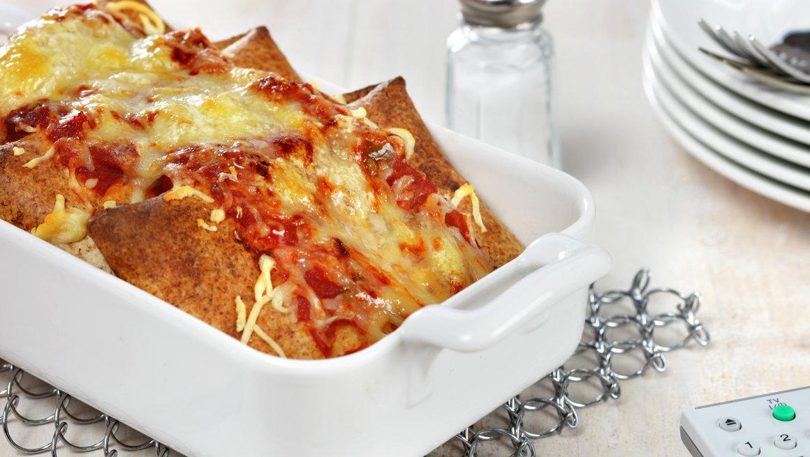 Superrask enchilada