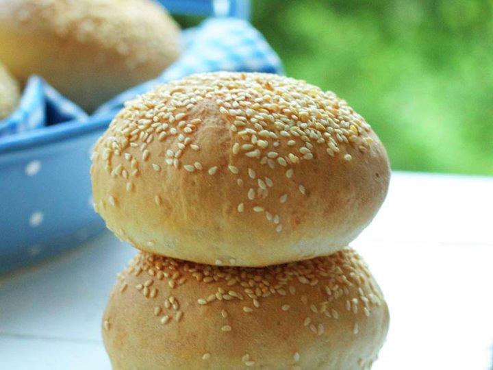 Fine hamburgerbrød