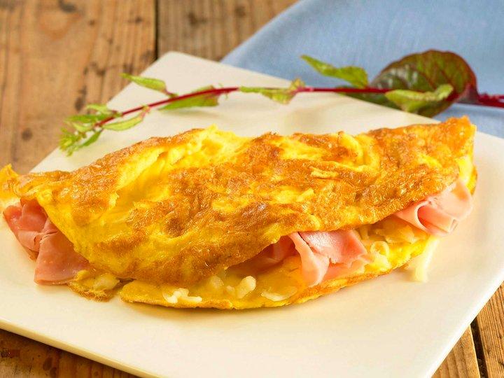 Deilig omelett