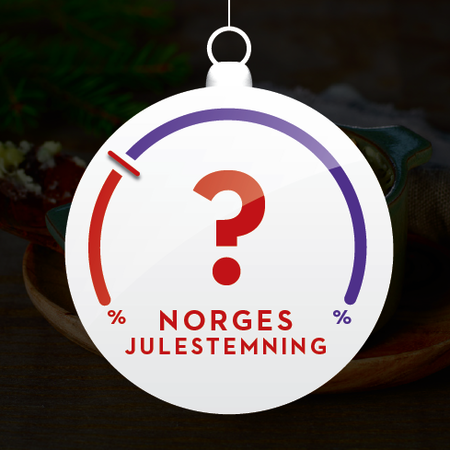 Badge julestemning