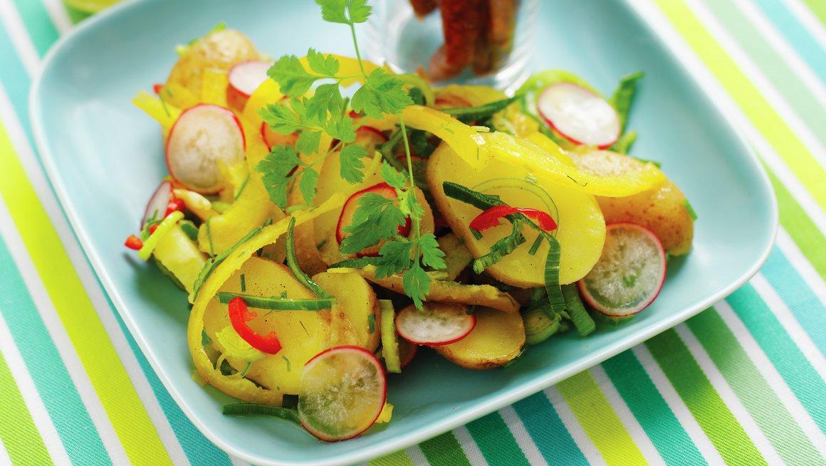 Sydlandsk potetsalat