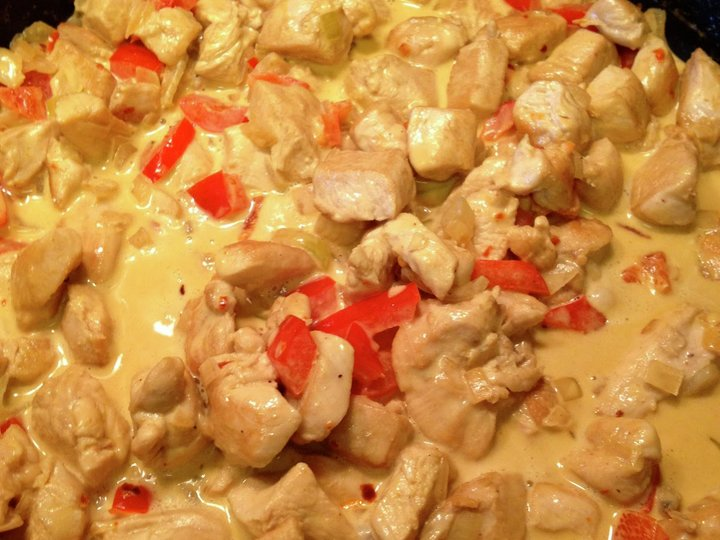 Britt Tones kyllinggryte med ris