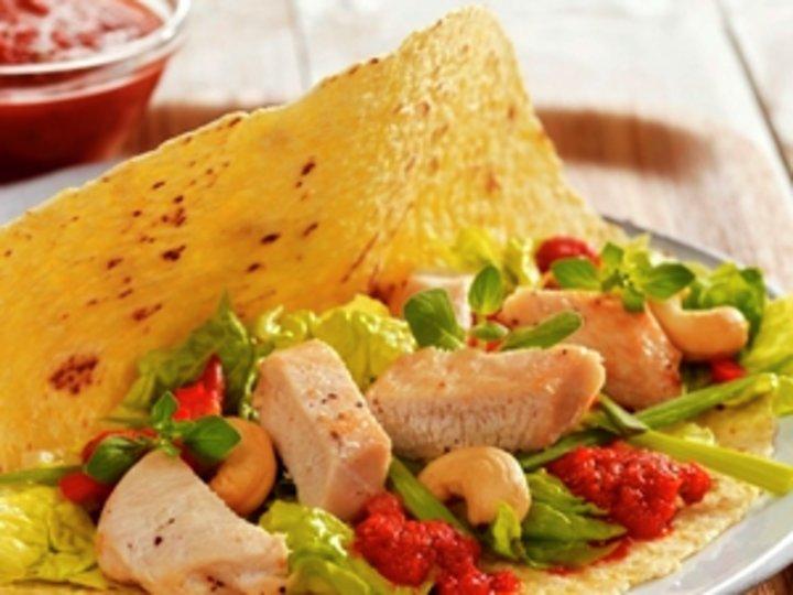 Tortilla med kylling