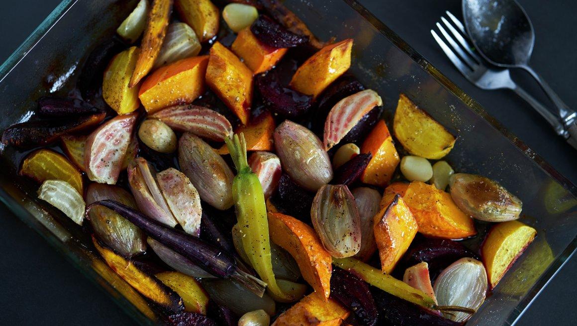 Bakte rotgrønnsaker